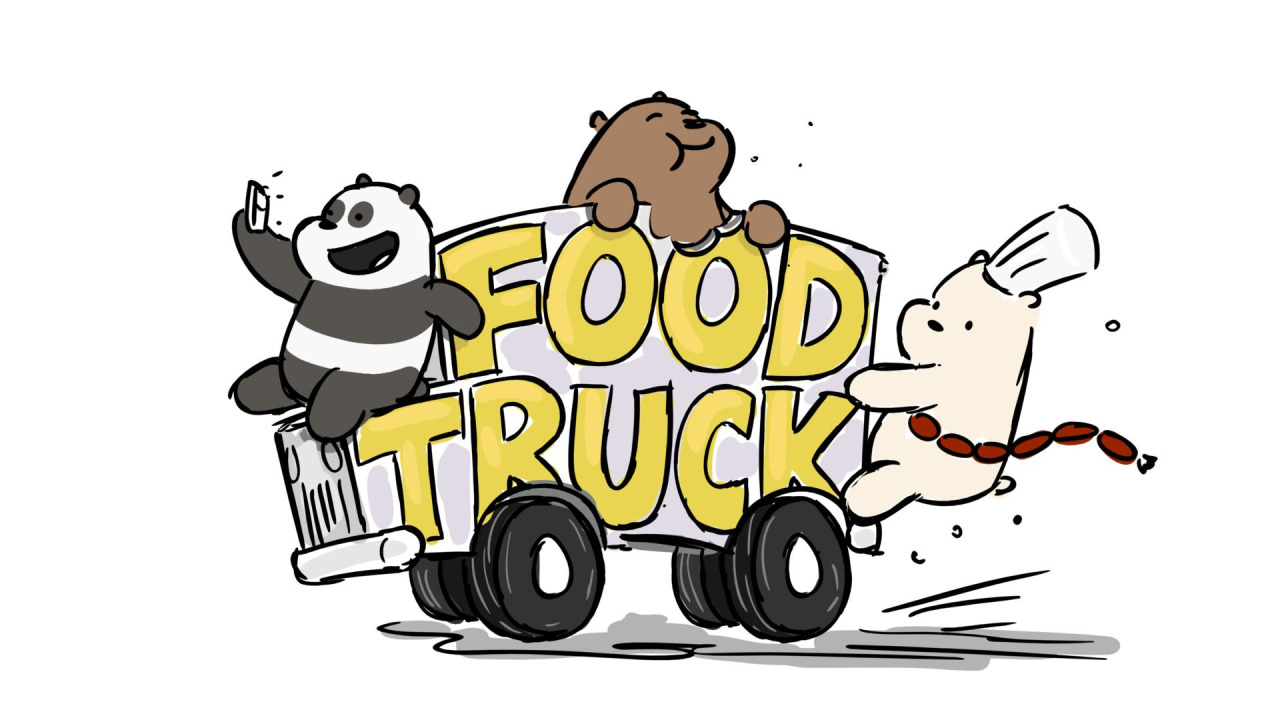 cartoon foodtruck